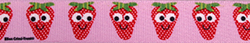 Sweet Strawberries Keychain